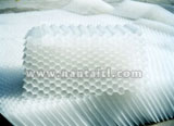 copolymerization of ethylene and propylene honeycomb inclined pipe